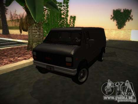 GMC Vandura pour GTA San Andreas