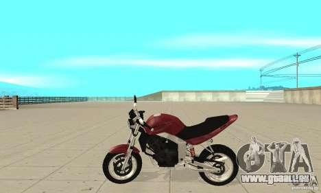 GTAIV BF400 FINAL pour GTA San Andreas laissé vue