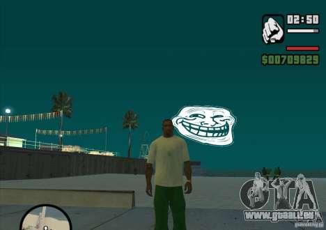 Trollface Moon pour GTA San Andreas