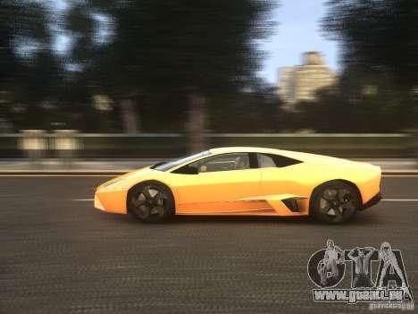 Lamborghini Reventon 2008 für GTA 4 Innenansicht