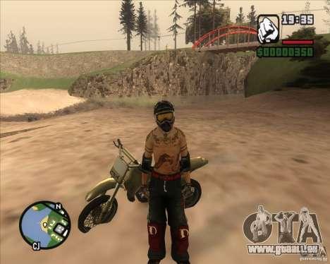 Le coureur du combustible pour GTA San Andreas deuxième écran
