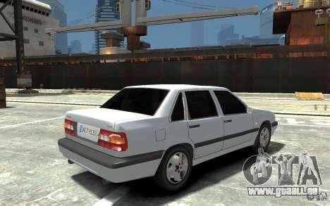 Volvo 850 Turbo 1997 pour GTA 4 est un droit