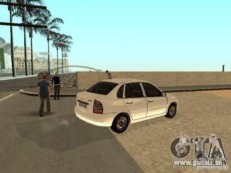 Lada Kalina für GTA San Andreas rechten Ansicht