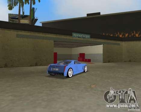 Cadillac Cien für GTA Vice City Rückansicht
