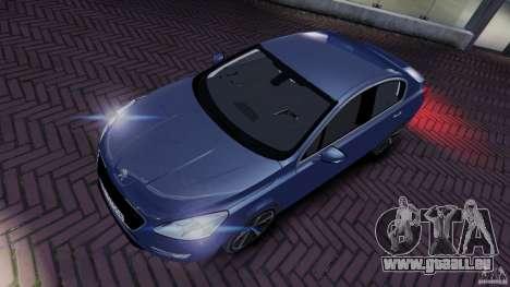 Peugeot 508 Final für GTA 4 hinten links Ansicht