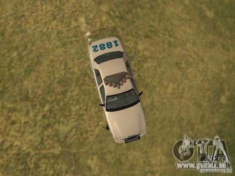 Ford Crown Victoria NYPD Police für GTA San Andreas Seitenansicht