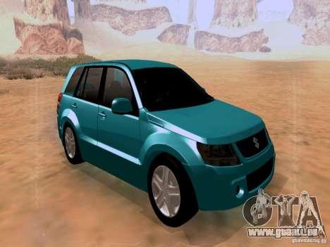 Suzuki Grand Vitara für GTA San Andreas rechten Ansicht