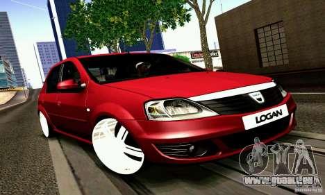 Dacia Logan 2008 pour GTA San Andreas
