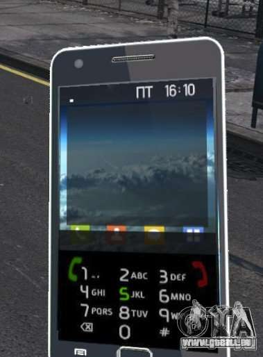 Samsung Galaxy S2 pour GTA 4 quatrième écran