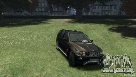 BMW X5 für GTA 4 rechte Ansicht