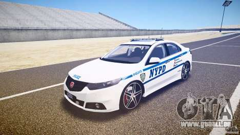 Honda Accord Type R NYPD (City Patrol 1090) ELS für GTA 4