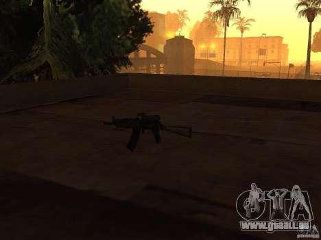 Pak armes domestiques pour GTA San Andreas cinquième écran
