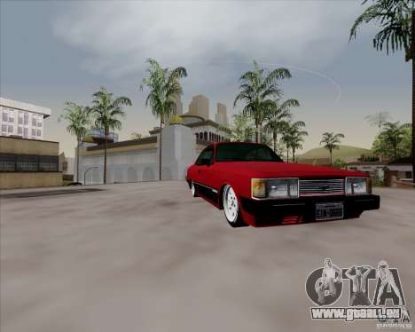 Chevrolet Opala Diplomata 1986 pour GTA San Andreas vue arrière