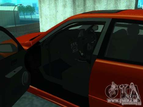 Toyota Altezza für GTA San Andreas Rückansicht