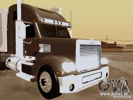 Freightliner Coronado für GTA San Andreas Innenansicht