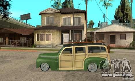 Ford Woody Custom 1946 für GTA San Andreas linke Ansicht