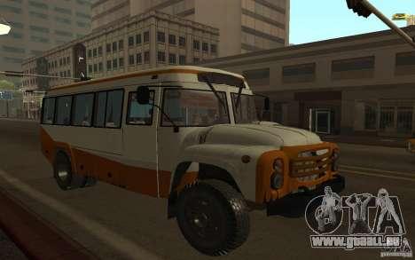 KAVZ 3976 KAVZOZIL für GTA San Andreas Seitenansicht