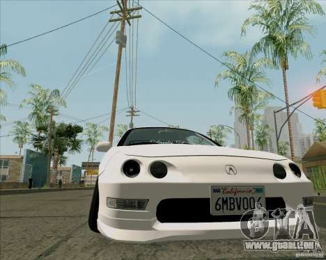Acura Integra für GTA San Andreas rechten Ansicht