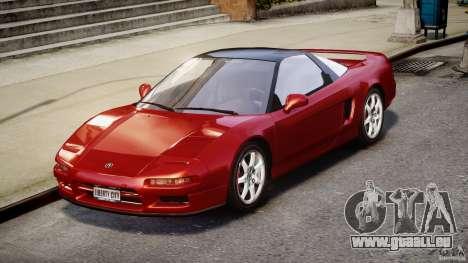 Acura NSX 1991 für GTA 4 rechte Ansicht