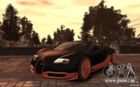 Bugatti Veyron Super Sport 2010 pour GTA 4