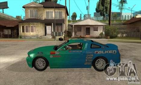 Ford Mustang GT Falken pour GTA San Andreas laissé vue