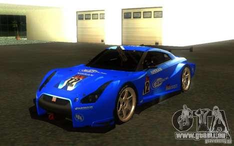 Nissan Skyline R35 GTR für GTA San Andreas