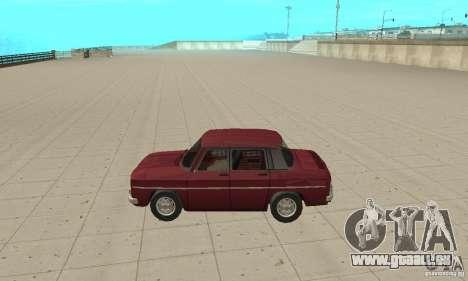 Dacia 1100 pour GTA San Andreas laissé vue