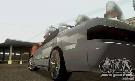 Toyota Cresta JZX90 pour GTA San Andreas vue de dessus