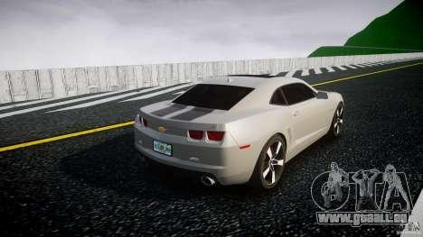 Chevrolet Camaro pour GTA 4 est un côté