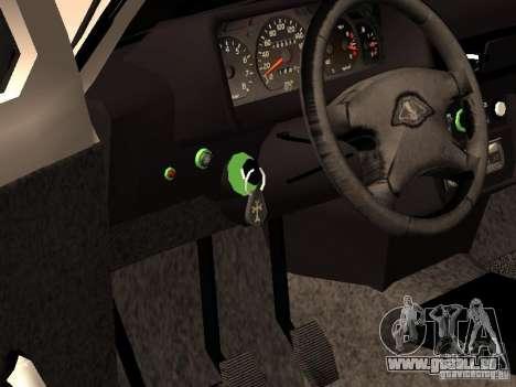 Armenian NIVA DORJAR 4 x 4 pour GTA San Andreas vue intérieure