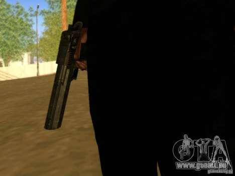 Desert Eagle MW3 pour GTA San Andreas quatrième écran