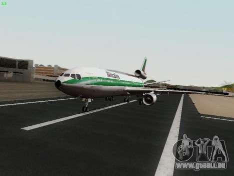 McDonell Douglas DC-10-30 Alitalia pour GTA San Andreas vue arrière