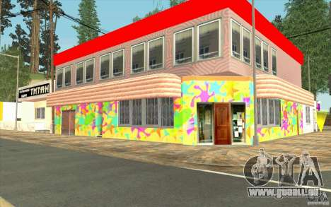 Un nouveau village Dillimur pour GTA San Andreas onzième écran