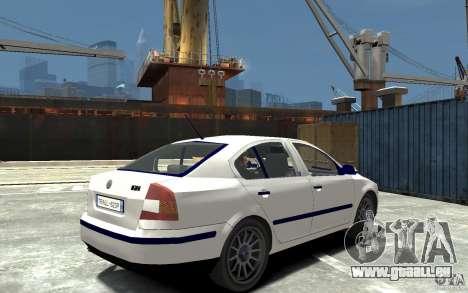 Skoda Octavia II 2005 pour GTA 4 est un droit