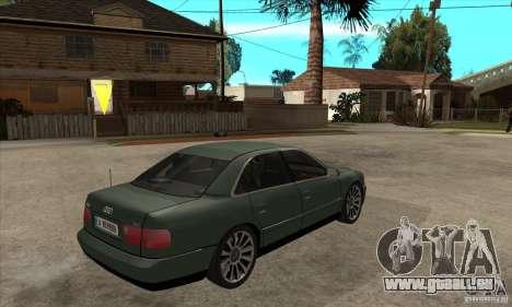 Audi A8 Long 6.0 2000 für GTA San Andreas rechten Ansicht