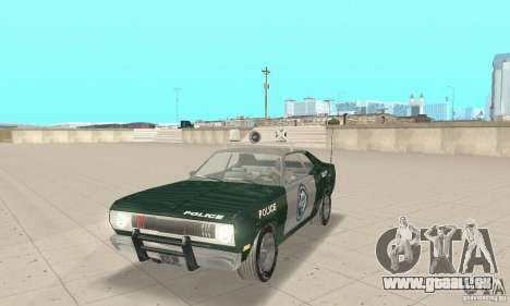 Plymouth Duster 340 Police pour GTA San Andreas