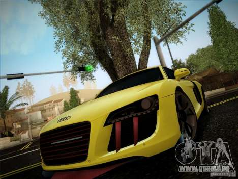 Audi R8 custom pour GTA San Andreas