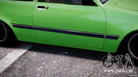 Chevrolet Chevette 1.6 1993 für GTA 4 Unteransicht