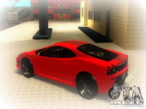 Ferrari 430 Scuderia TT Black Revel pour GTA San Andreas laissé vue