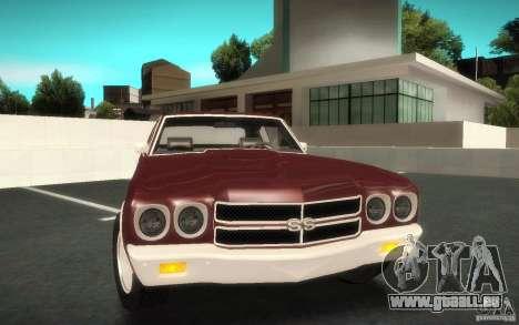 Chevrolet Chevelle SS für GTA San Andreas rechten Ansicht