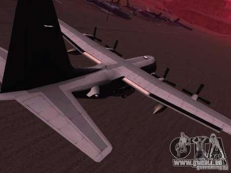 AC-130 Spooky II pour GTA San Andreas laissé vue