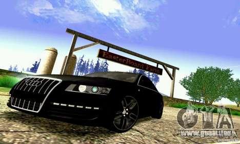 Audi A6 Blackstar pour GTA San Andreas