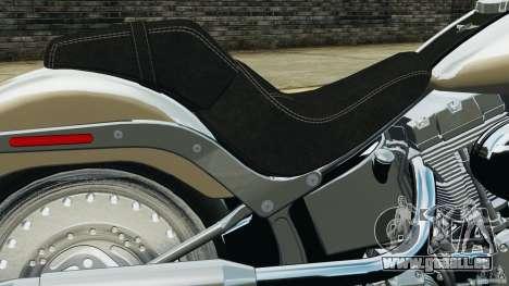 Harley Davidson Softail Fat Boy 2013 v1.0 für GTA 4 Seitenansicht