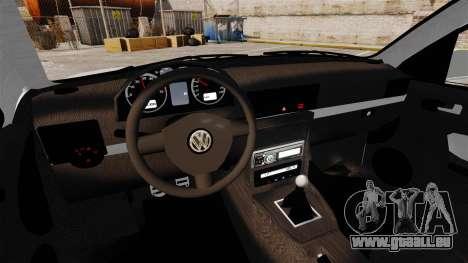 Volkswagen Golf Flash Edit pour GTA 4 est une vue de l'intérieur