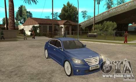 Hyundai Genesis für GTA San Andreas rechten Ansicht