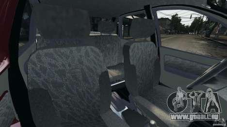 Vaz-1118 Kalina v1.1 pour GTA 4 est une vue de l'intérieur