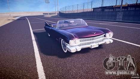 Cadillac Eldorado 1959 interior black pour GTA 4 est une vue de l'intérieur