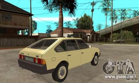 AZLK 2141 für GTA San Andreas rechten Ansicht