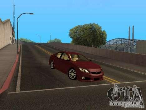 Toyota Camry 2013 für GTA San Andreas linke Ansicht
