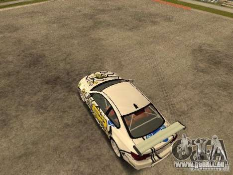 BMW M3 E92 Grip King für GTA San Andreas Rückansicht